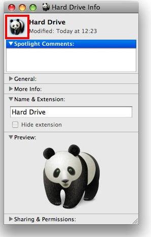 Change Mac OSX Yosemite icon