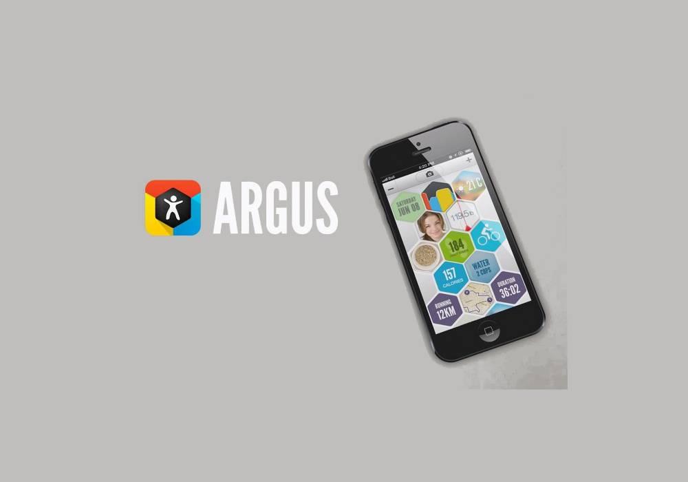 ARGUS fitness app