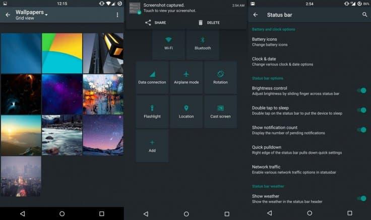 Android 5.1.1 Nexus 6 chroma rom