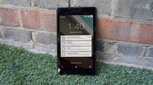 Nexus 9 lockscreen