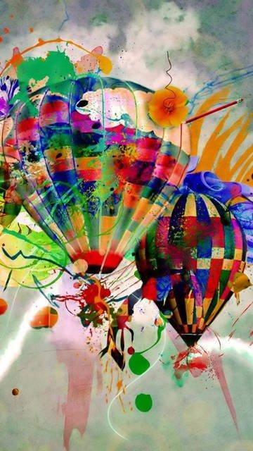 Balloon lg g3 wallpaper
