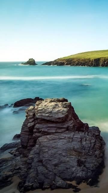 Bay scenery Nexus 6 wallpaper