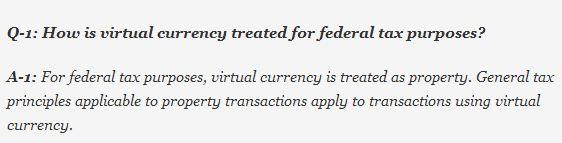 Bitcoin Tax Q1