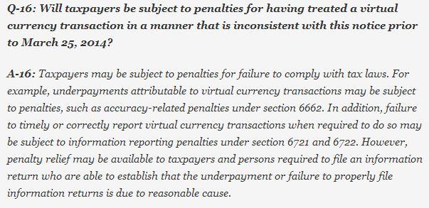 Bitcoin Tax Q4