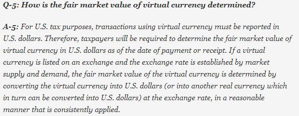 Bitcoin tax Q2