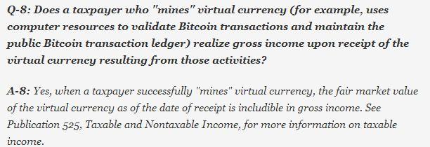 Bitcoin tax Q3