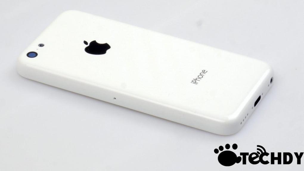 Budget iphone back panel white