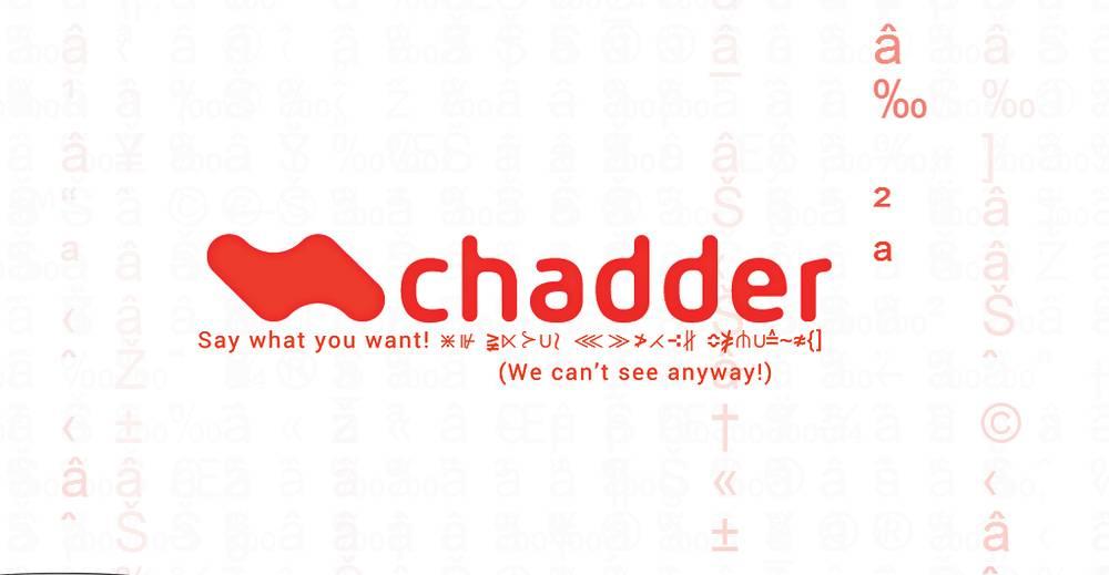 Chadder logo
