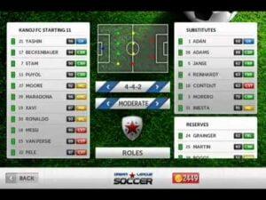 Dream League teams
