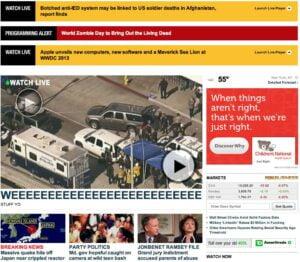 Fox news website hacked