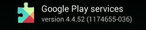 Google Play serviço 4.4.52