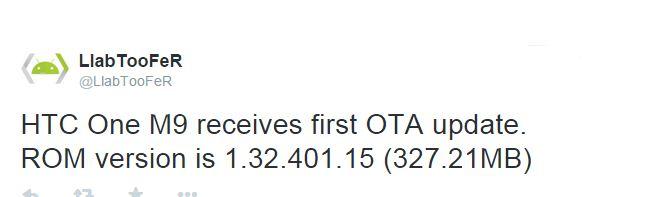 HTC One M9 OTA