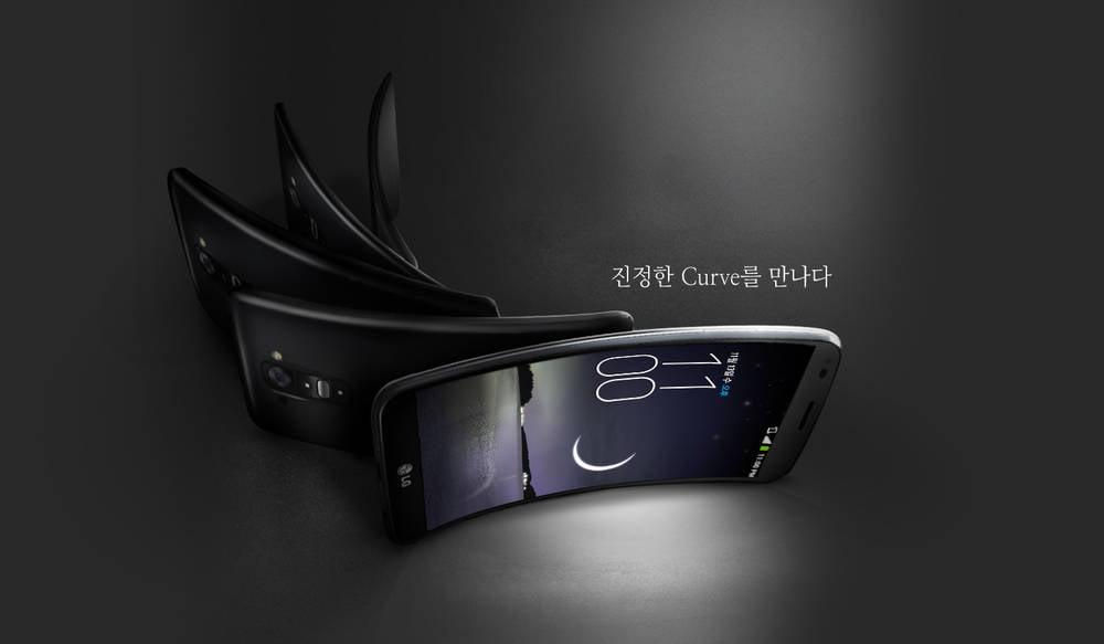 LG G flex healing backpanel video