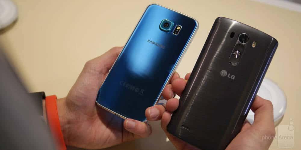 LG G4 vs Galaxy S6 comparison