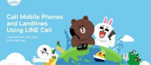 Make calls using Line
