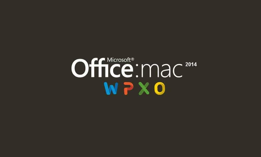 Microsoft Office for Mac 2014