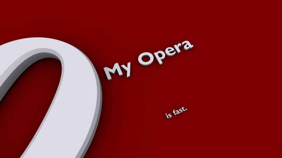 My Opera shuts down