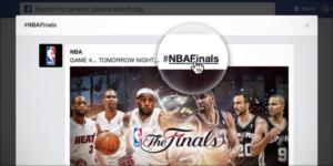 Facebook Hastag NBA
