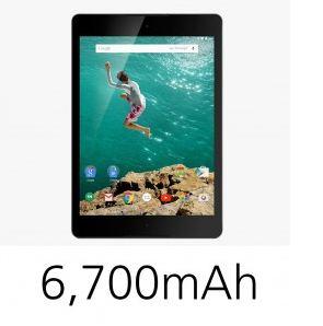 Nexus 9 6700mah battery