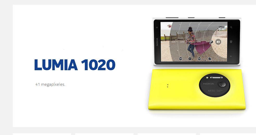 Nokia Lumia 1020 announced