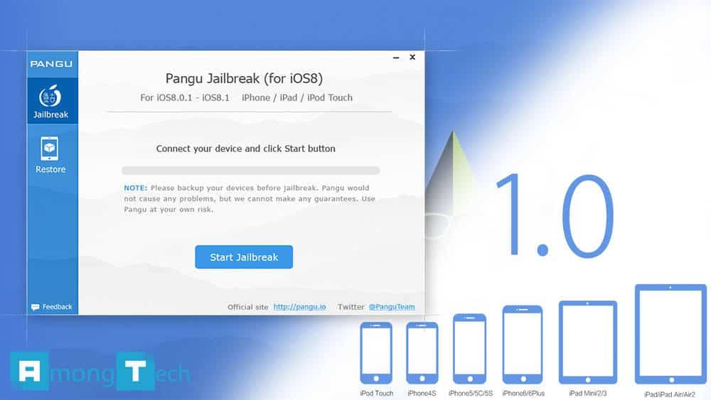 Pangu 1.0 for Mac OSX