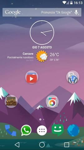 PureWhite Android L Custom ROM