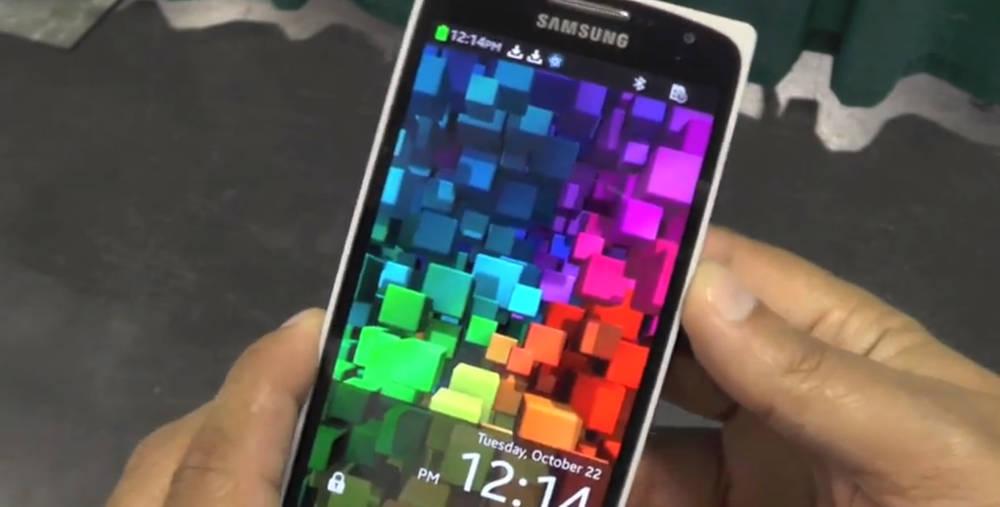 Samsung Z9005 running Tizen OS