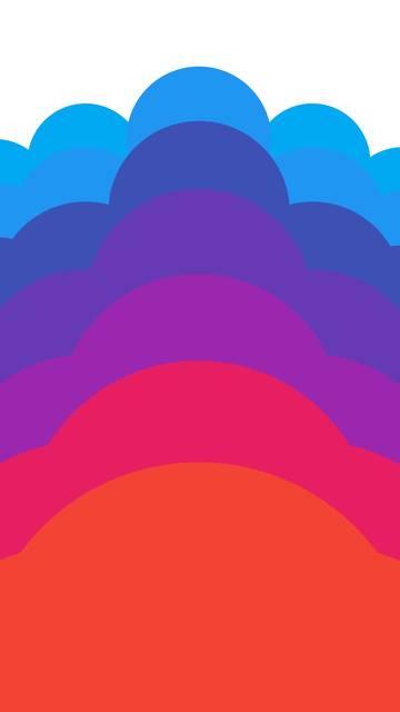 Simple Cloud Nexus 6 wallpaper