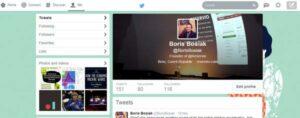 Twitter header redesign