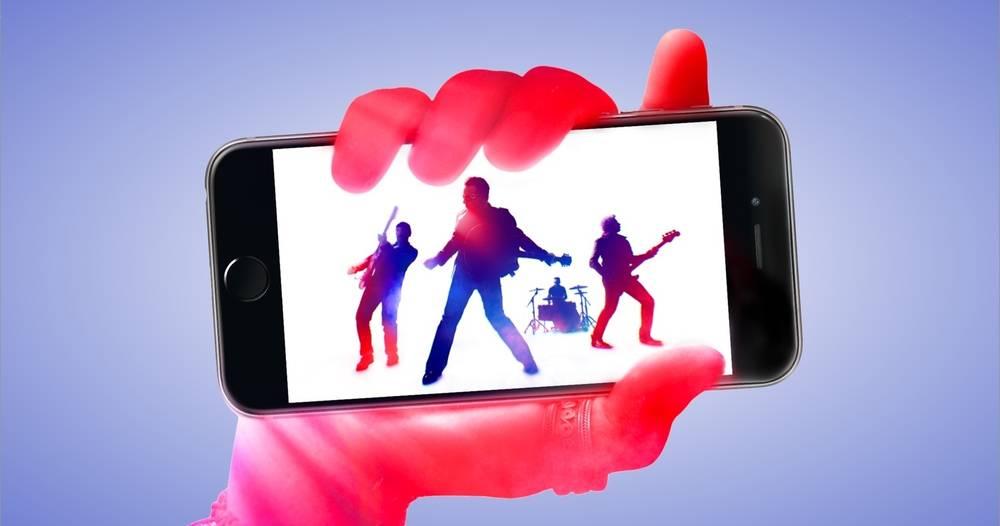 U2 album iPhone