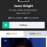 Vine profile on Windows Phone