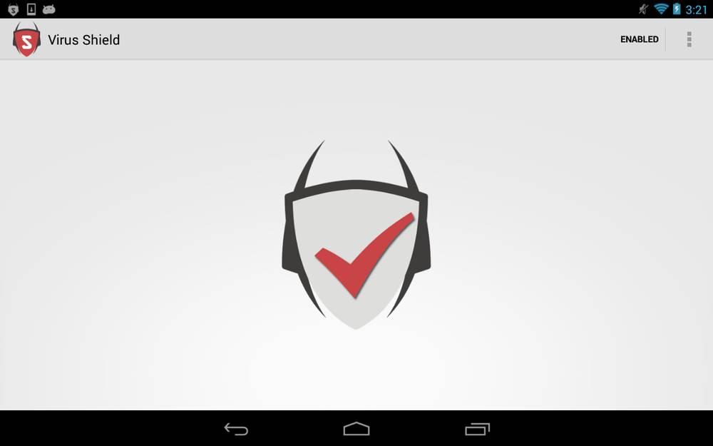 Virus Shield app