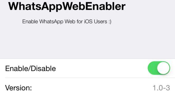 WhatsApp Web enabler