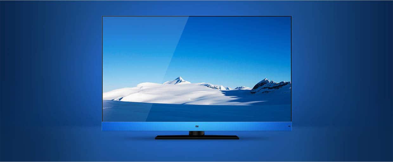 Xiaomi Mi TV blue