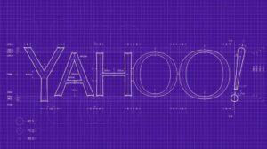 Yahoo logo blueprint