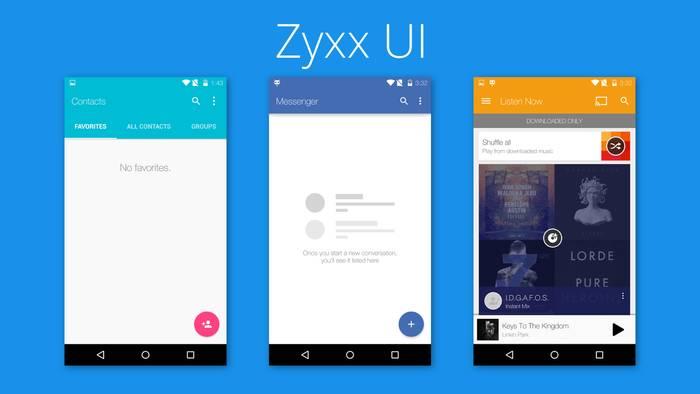 Zyxx Cm12 Theme