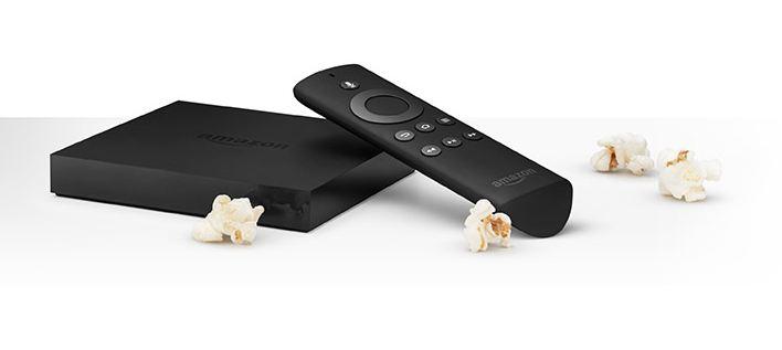amazon fire tv device and remote